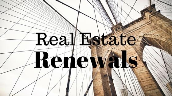 Real Estate Renewals